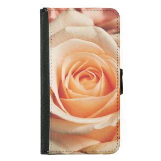 Romantic Rose Pink Rose Samsung Galaxy S5 Wallet Case