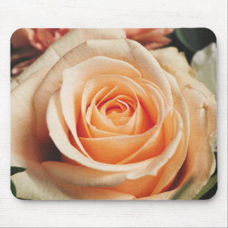 Romantic Rose Pink Roses Floral Flower Mouse Pad