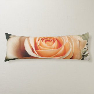 Romantic Rose Pink Roses Spring Flower Floral Body Pillow