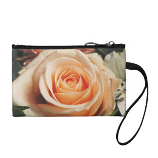 Romantic Rose Pink Roses Spring Flower Floral Coin Purse