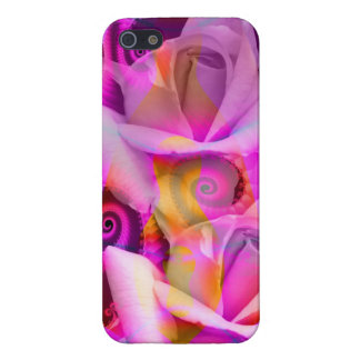 Romantic Roses and Swirls iPhone 5 Cases