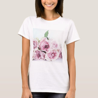 Romantic roses bouquet T-shit T-Shirt