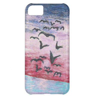 romantic sunset iPhone 5C cover
