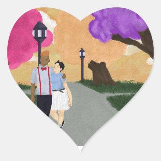 Romantic Tour Heart Sticker