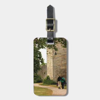 Romantic Traveling Couple Luggage Tag