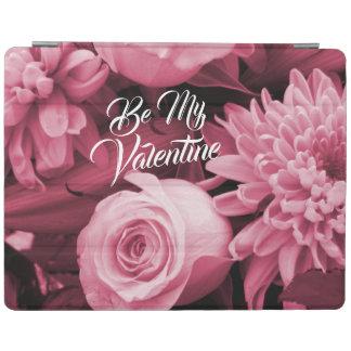 Romantic Valentines Day Antique Pink Roses iPad Cover