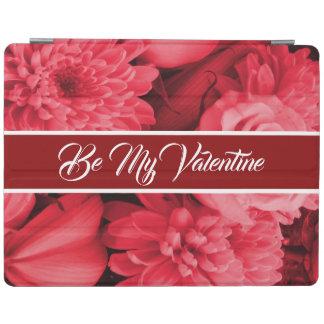 Romantic Valentines Red Rose iPad Cover