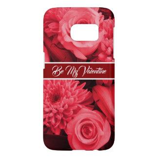 Romantic Valentines Red Rose Samsung Galaxy S7 Case