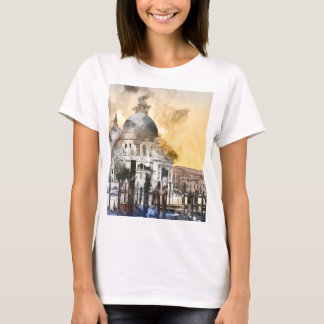 Romantic Venice Italy Grand Canal T-Shirt