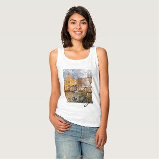 Romantic Venice Italy Grand Canal Tank Top