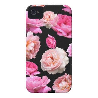 Romantic Vintage Floral iPhone 4 Matte Slim Case