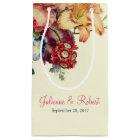 Romantic Vintage Floral Wedding Welcome Gift Bag