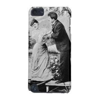 Romantic vintage lovers on a boat iPod touch 5G covers