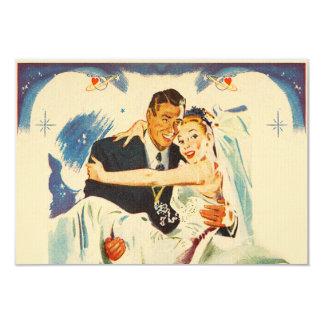 Romantic Wedding Couple Card