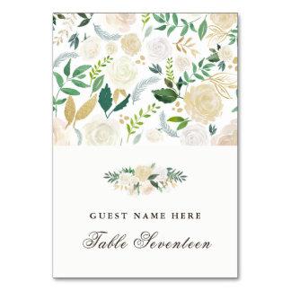 Romantic Woodland Escort Cards Table Card