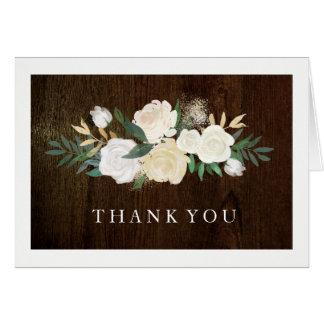 Romantic Woodland Wedding Thank You Cards