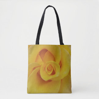 Romantic Yellow Rose Petals Tote Bag