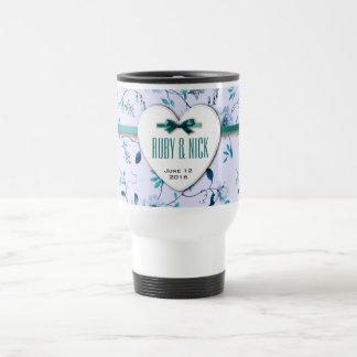 RomanticCharm Vintage Floral Wedding Collection Mug