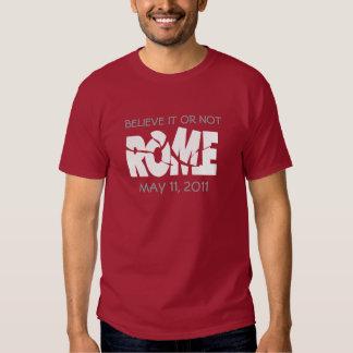 Rome 11 May 2011 T Shirts