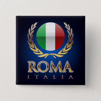 Rome 2 Inch Square Button
