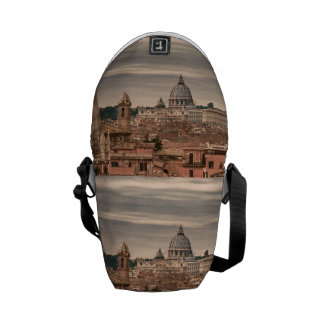 Rome Aerial View From Monte Pincio Sightseeing Courier Bag