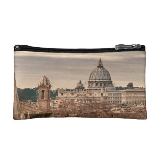 Rome Aerial View From Monte Pincio Sightseeing Makeup Bag