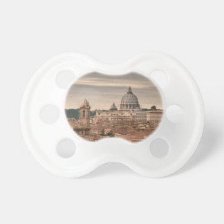 Rome Aerial View From Monte Pincio Sightseeing Pacifier