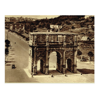 Rome, Arch of Constantine Postcard