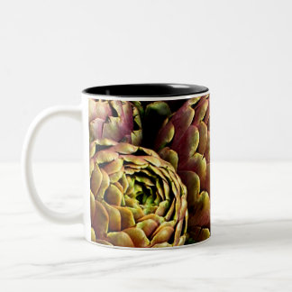 rome artichokes Two-Tone coffee mug
