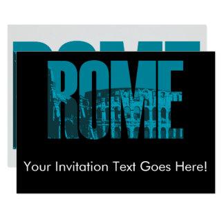 Rome Carton D'invitation 12,7 Cm X 17,78 Cm