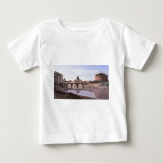 Rome, Castle Sant Angelo by Camille Corot Baby T-Shirt