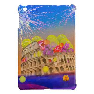 Rome celebrates season with tennis balls, flowers iPad mini cover
