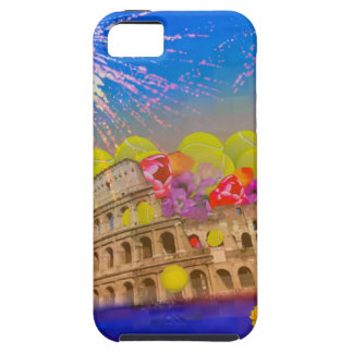 Rome celebrates season with tennis balls, flowers iPhone 5 cases