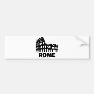 Rome colosseum bumper sticker