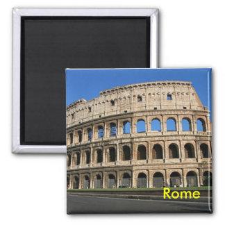 rome colosseum square magnet