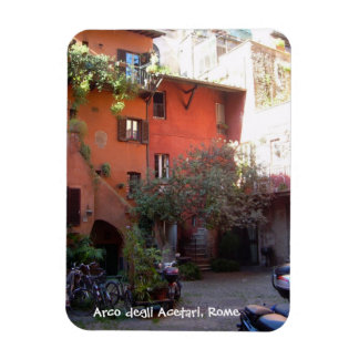 Rome Courtyard (Arco degli Acetari) Magnet