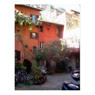 Rome Courtyard (Arco degli Acetari) Postcard