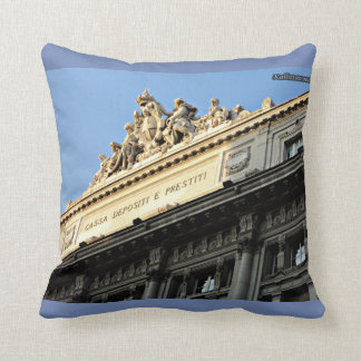 Rome forever! throw pillow