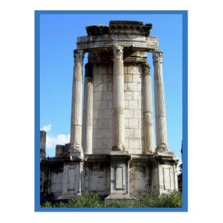Rome (Forum Ruins) Postcard