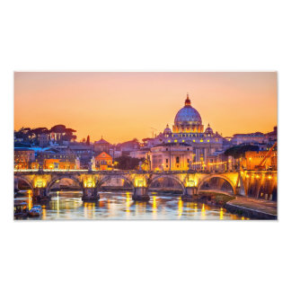 Rome Golden Hour Photo Print