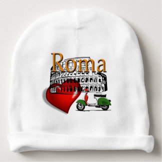 Rome in my Heart Baby Beanie
