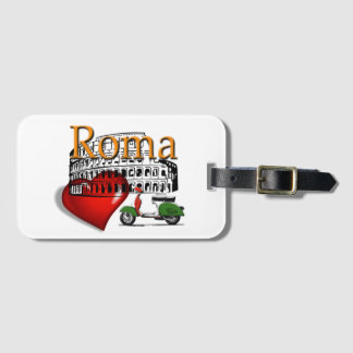 Rome in my Heart Bag Tag