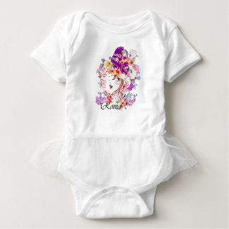 Rome in Woman Baby Bodysuit