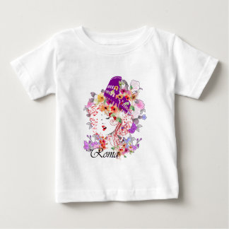 Rome in Woman Baby T-Shirt