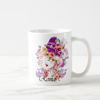 Rome in Woman Coffee Mug