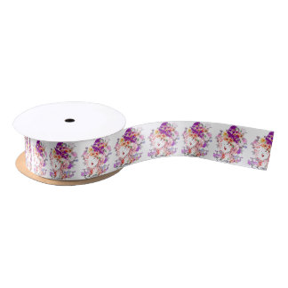 Rome in Woman Satin Ribbon