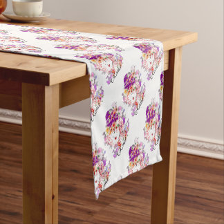 Rome in Woman Short Table Runner