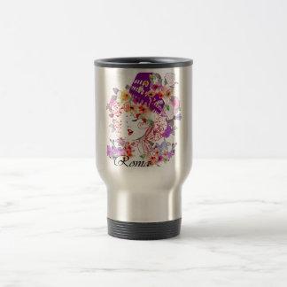 Rome in Woman Travel Mug