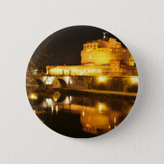 Rome, Italy at night 2 Inch Round Button