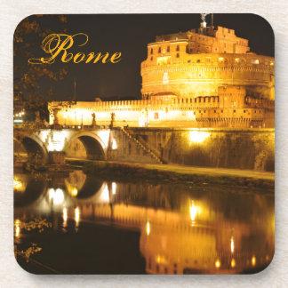 Rome, Italy at night Coaster